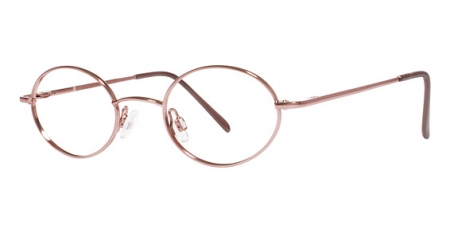 kids' glasses with skull temples, rose